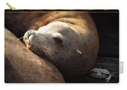 Resting On The Pier Carry-all Pouch