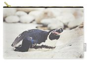 Resting Penguin Carry-all Pouch