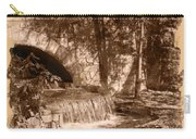 Resting Place - Digital Charcoal Drawing Carry-all Pouch