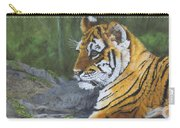 Resting Place - Tiger Cub Carry-all Pouch