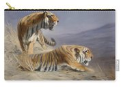 Resting Tigers Carry-all Pouch