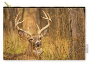 Resting White-tailed Deer Buck Carry-all Pouch