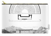 Restoration Of The Greek Theater Carry-all Pouch