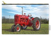 Restored Farmall Tractor Carry-all Pouch