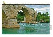 Restored Roman Bridge Over Eurynedan River-turkey Carry-all Pouch