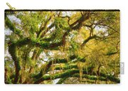 Resurrection Fern Carry-all Pouch by Carla Parris