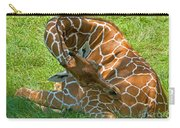 Reticulated Giraffe Sleeping Carry-all Pouch
