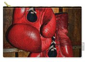 Retired Boxing Gloves Carry-all Pouch by Paul Ward