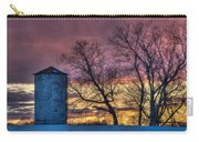 Retired Silo Watching Sunset Carry-all Pouch