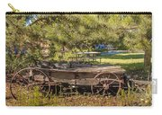 Retired Wagon At Thousand Trails Carry-all Pouch