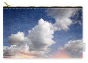 Retro Clouds 2 Carry-all Pouch