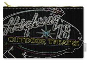 Retro Collection Drive-in Theaters Carry-all Pouch