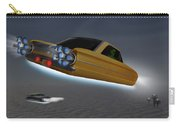Retro Flying Objects Carry-all Pouch