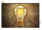 Retro Light Bulb Carry-all Pouch