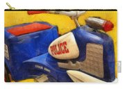 Retro Police Tricycle Carry-all Pouch