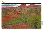 Return Trail To Elephant Hill In Needles District Of Canyonlands National Park-utah Carry-all Pouch