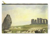 Returning Home     Stonehenge Carry-all Pouch