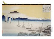 Returning Sails At Yabase Carry-all Pouch