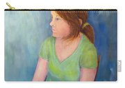 Reverie Of A Young Woman Carry-all Pouch