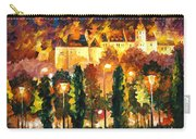 Revived Legend - Palette Knife Oil Painting On Canvas By Leonid Afremov Carry-all Pouch