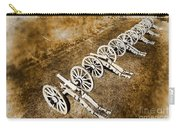 Revolutionary War Cannons Carry-all Pouch