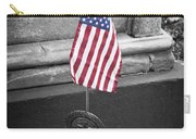 Revolutionary War Veteran Marker Carry-all Pouch by Teresa Mucha