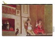 Revue At The Theatre Des Varietes, C.1885 Oil On Canvas Carry-all Pouch
