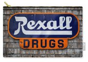 Rexall Drugs Carry-all Pouch
