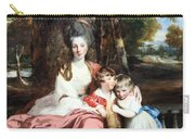 Reynolds' Lady Elizabeth Delme And Her Children Carry-all Pouch