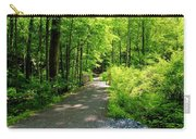 Wooded Path 20 Carry-all Pouch