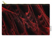 Rhapsody In Red H - Panorama - Abstract - Fractal Art Carry-all Pouch