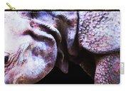 Rhino 2 - Buy Rhinoceros Art Prints Carry-all Pouch