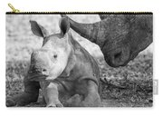 Rhino And Baby Carry-all Pouch