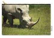 Rhino Covered In Flies Carry-all Pouch