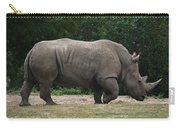 Rhino In The Wild Carry-all Pouch