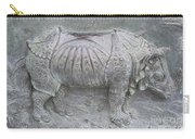 Rhino Relief - Church Door Detail Pisa Carry-all Pouch
