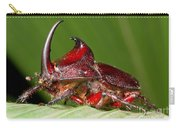 Rhinoceros Beetle Carry-all Pouch