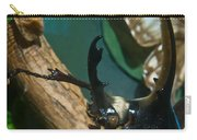 Rhinoseros Beetle Up Close And Personal Carry-all Pouch
