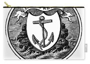 Rhode Island State Seal Carry-all Pouch
