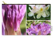 Rhododendron Collage Carry-all Pouch