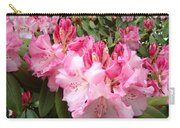 Rhododendron Garden Art Prints Pink Rhodie Flowers Carry-all Pouch