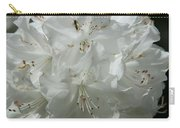 Rhododendron Purity Carry-all Pouch