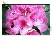 Rhododendron Square With Border Carry-all Pouch