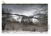 Rhymney Valley Winter 5 Carry-all Pouch
