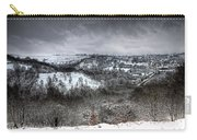 Rhymney Valley Winter 6 Carry-all Pouch