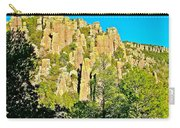 Rhyolite Columns On Ed Riggs Trail In Chiricahua National Monument-arizona Carry-all Pouch