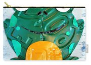Ribbit The Frog License Plate Art Carry-all Pouch