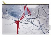 Ribbon In Tree Carry-all Pouch
