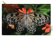 Rice Paper Butterfly Elegance Carry-all Pouch