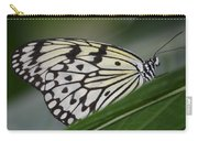 Rice Paper On Leaf Carry-all Pouch
